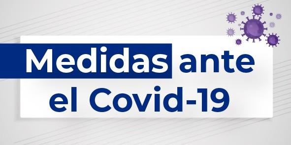 Medidas ante el COVID-19